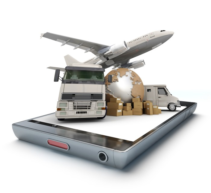 canstockphoto25910387 plane truck freight on iphone